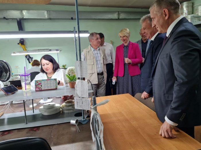 """Глава города Е. Ковалеа с рабочим визитом в ВТК Энерго"""""""